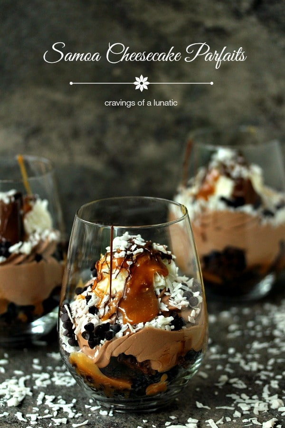 Samoa-No-Bake-Cheesecake-Parfaits-4